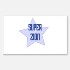 Super Zion Rectangle Decal