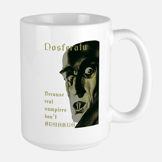 Nosferatu - Because real vampires dont sparkle Mug