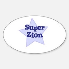 Super Zion Oval Decal