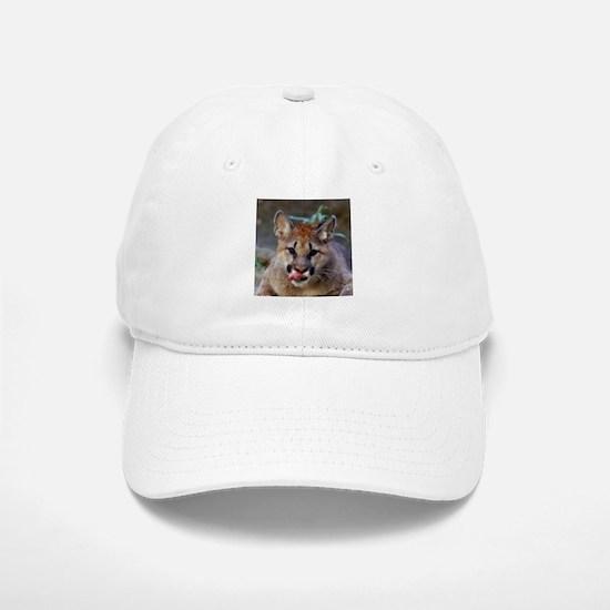 Cougar Cub Baseball Baseball Cap