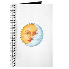 Cute Moon face Journal