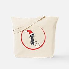 Feral Cat Claus Tote Bag