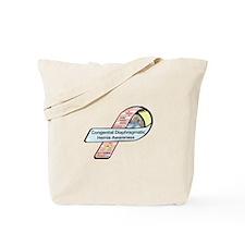 Holly Lauren Morris CDH Awareness Ribbon Tote Bag