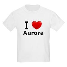 I Love Aurora T-Shirt