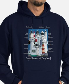 Lighthouses Of England Hoodie