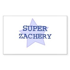 Super Zachery Rectangle Decal