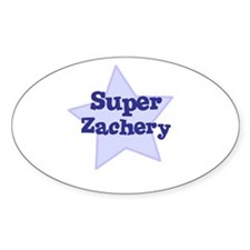 Super Zachery Oval Decal