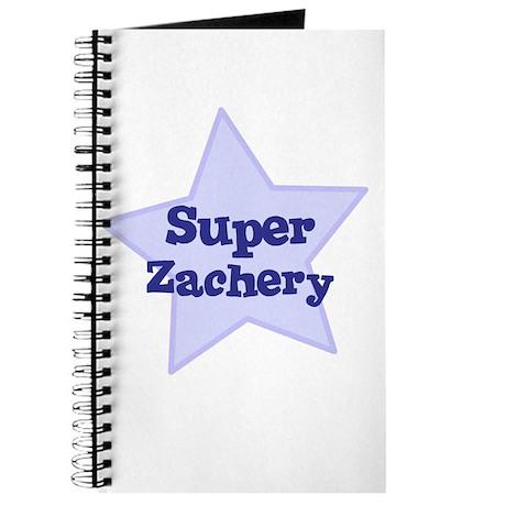 Super Zachery Journal