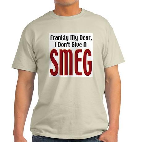 Don't Give A Smeg Ash Grey T-Shirt