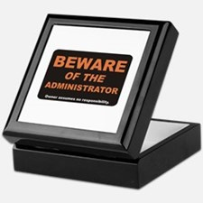 Beware / Administrator Keepsake Box