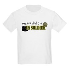 My Step Dad is a US Soldier T-Shirt
