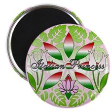 Italian Princess Floral Magnet