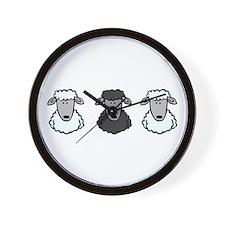 Black Sheep Of the Family Wall Clock