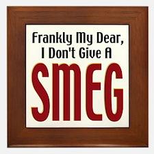 Don't Give A Smeg Framed Tile