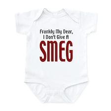 Don't Give A Smeg Infant Creeper
