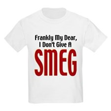 Don't Give A Smeg Kids T-Shirt