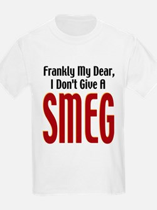 Don't Give A Smeg Kids T-Shirt