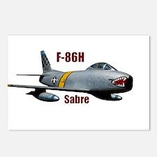 F-86H Sabre 2 Postcards (Package of 8)