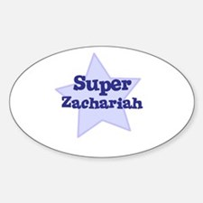 Super Zachariah Oval Decal