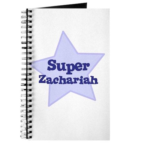 Super Zachariah Journal