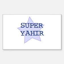 Super Yahir Rectangle Decal