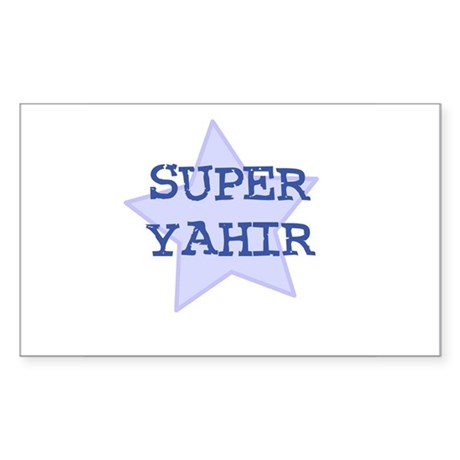 Super Yahir Rectangle Sticker