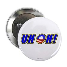 """Uh Oh! 2.25"""" Button (10 pack)"""