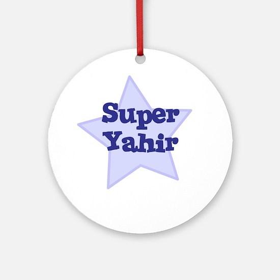 Super Yahir Ornament (Round)