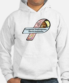 Christian LeRoy Ray CDH Awareness Ribbon Hoodie