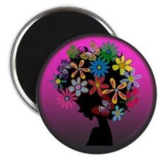 Colorful-BOMBER HEAD (Round) Magnet