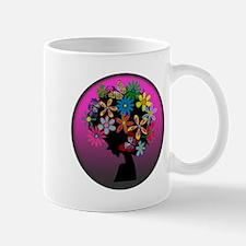 Colorful-BOMBER HEAD (Round) Mug
