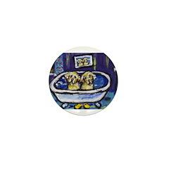 Golden beach Mini Button (10 pack)