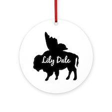 Lily Dale Ornament (Round)