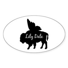 Lily Dale Oval Decal