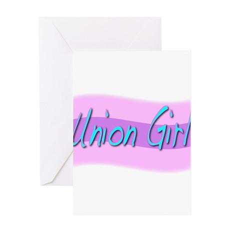 union girl2 Greeting Card