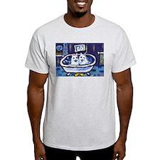 Eskie Bath Ash Grey T-Shirt