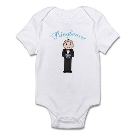Cute Little Ringbearer Infant Bodysuit
