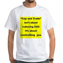 Cap and trade isn't about rdeucing CO2... Shirt