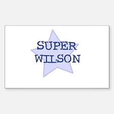 Super Wilson Rectangle Decal