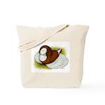 Bokhara Trumpeter Pigeon Tote Bag