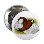 "Bokhara Trumpeter Pigeon 2.25"" Button (100 pa"