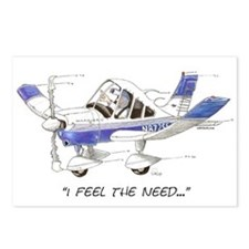 I Feel the Need Postcards (Package of 8)