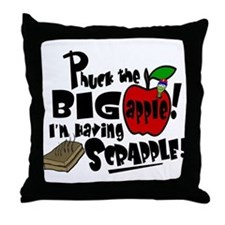 PHUCK THE BIG APPLE! Throw Pillow