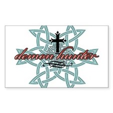 Demon Hunter Star Rectangle Decal