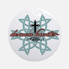 Demon Hunter Star Ornament (Round)