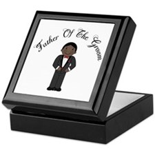 Fun Father Of The Groom Keepsake Box