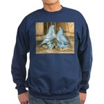 Lavender West Pigeons Sweatshirt (dark)