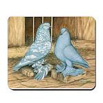 Lavender West Pigeons Mousepad