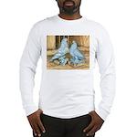 Lavender West Pigeons Long Sleeve T-Shirt