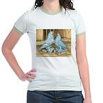 Lavender West Pigeons Jr. Ringer T-Shirt